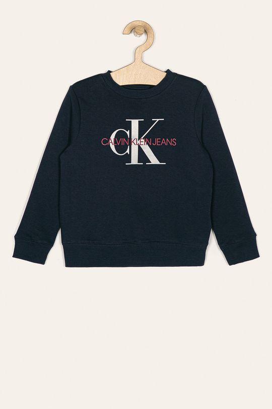 tmavomodrá Calvin Klein Jeans - Detská mikina 128-176 cm Chlapčenský