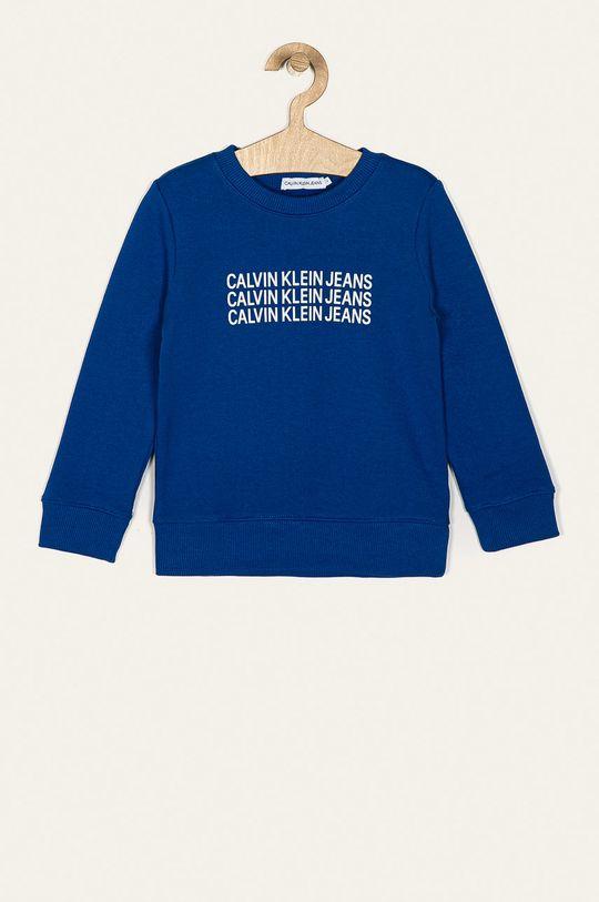 modrá Calvin Klein Jeans - Detská mikina 104-176 cm Chlapčenský