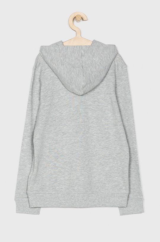 Guess Jeans - Detská mikina 125-175 cm sivá