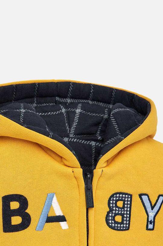 Mayoral - Detská obojstranná mikina 74-98 cm  Podšívka: 21% Bavlna, 79% Polyester Základná látka: 31% Bavlna, 1% Elastan, 68% Polyester