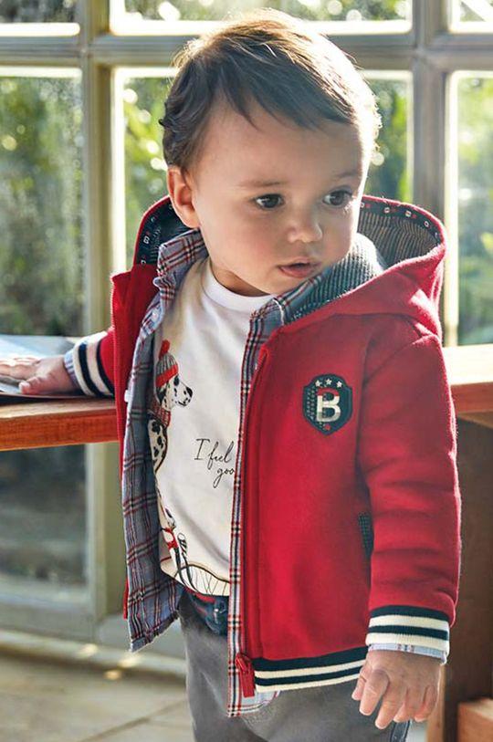 červená Mayoral - Detská mikina 68-98 cm Chlapčenský