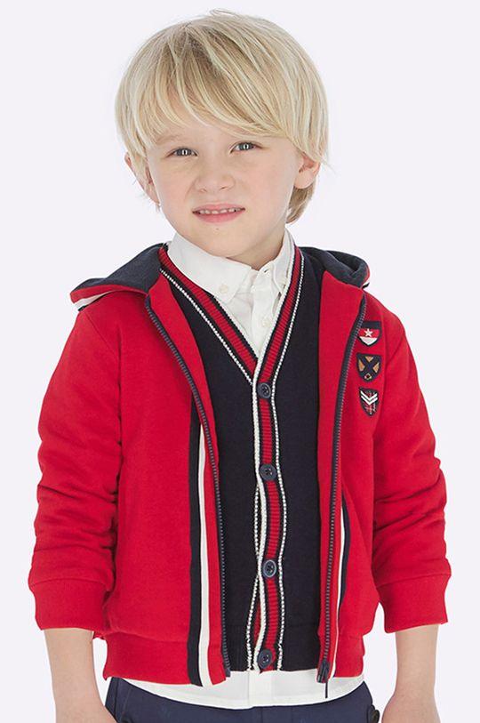 červená Mayoral - Detská mikina 92-134 cm Chlapčenský