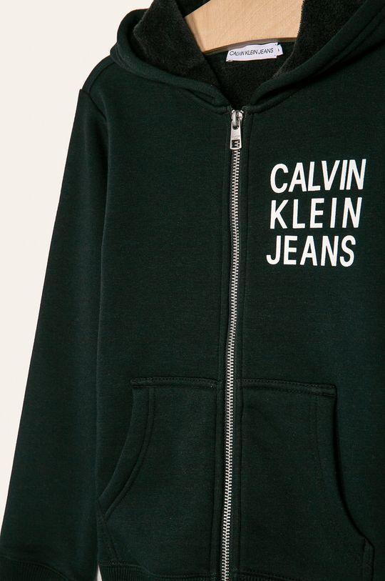Calvin Klein Jeans - Detská mikina 128-176 cm  28% Bavlna, 5% Elastan, 67% Polyester