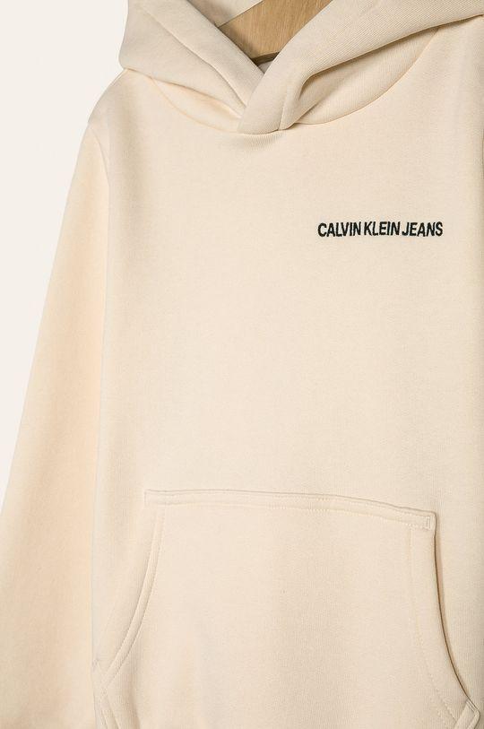 Calvin Klein Jeans - Detská mikina 128-176 cm  50% Bavlna, 50% Polyakryl