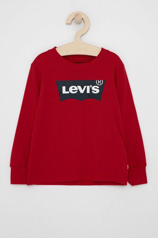 czerwony Levi's - Longsleeve dziecięcy 86-176 cm Chłopięcy