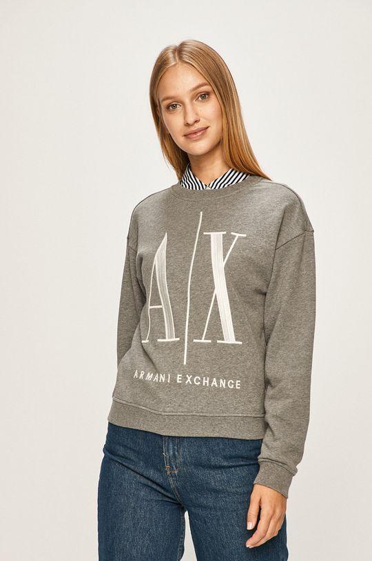 szary Armani Exchange - Bluza