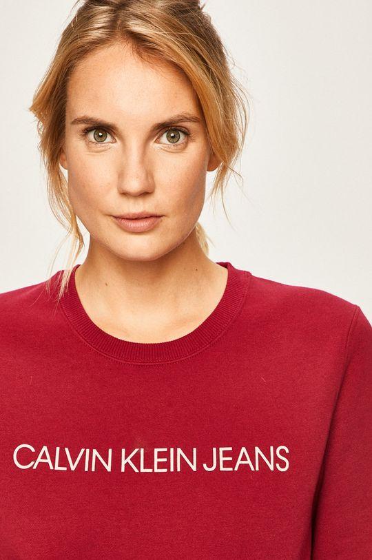 kaštanová Calvin Klein Jeans - Mikina