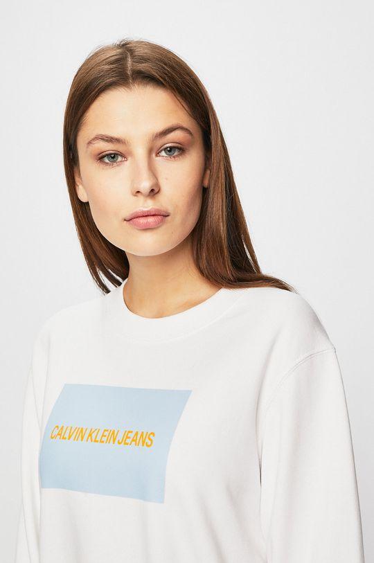 bílá Calvin Klein Jeans - Mikina Dámský