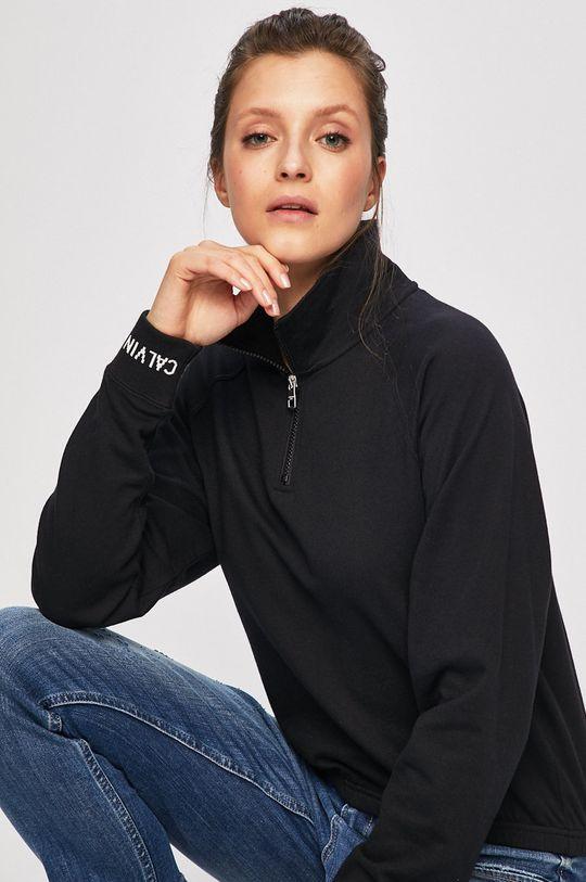 černá Calvin Klein Jeans - Mikina Dámský