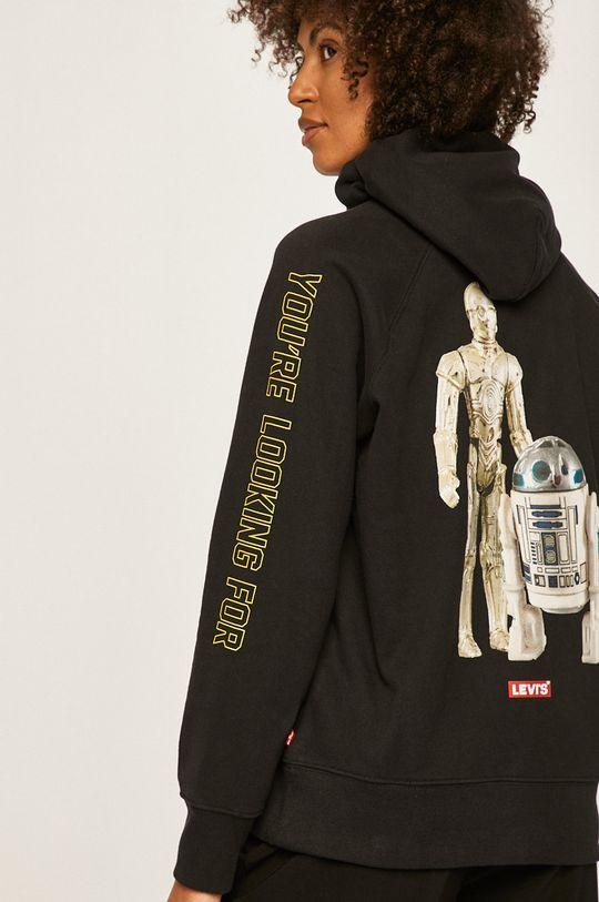 negru Levi's - Bluza x Star Wars De femei