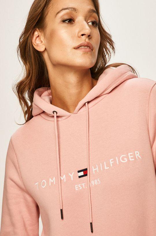 pastelowy różowy Tommy Hilfiger - Bluza Damski