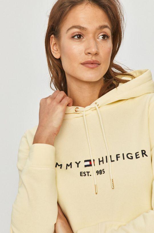jasny żółty Tommy Hilfiger - Bluza