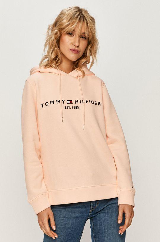 jasny pomarańczowy Tommy Hilfiger - Bluza WW0WW26410 Damski
