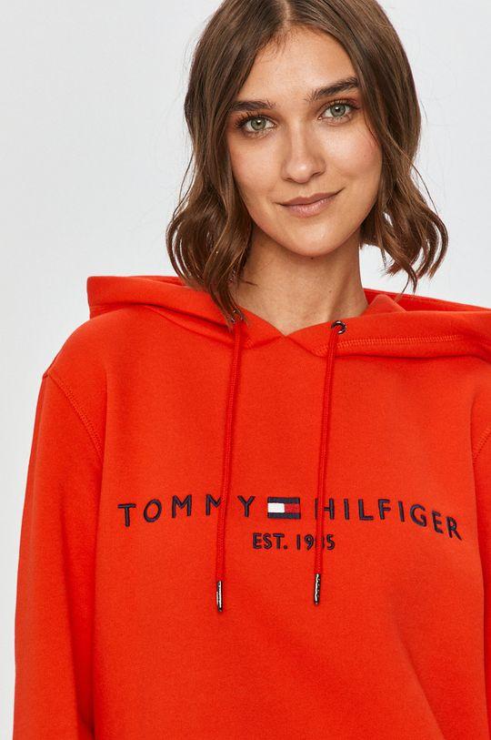 mandarínková Tommy Hilfiger - Mikina