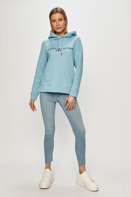 Tommy Hilfiger - Bluza jasny niebieski