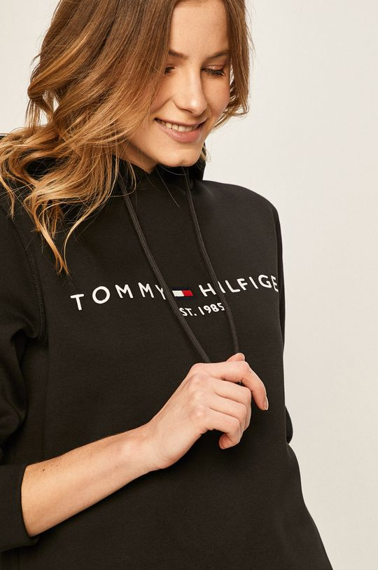 czarny Tommy Hilfiger - Bluza