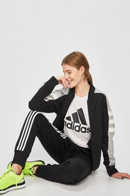 adidas Performance - Mikina černá