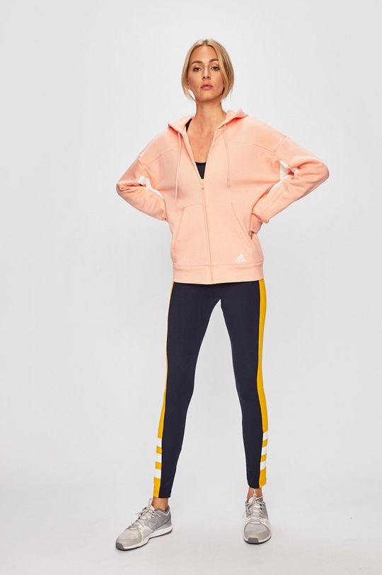 adidas Performance - Felső rózsaszín