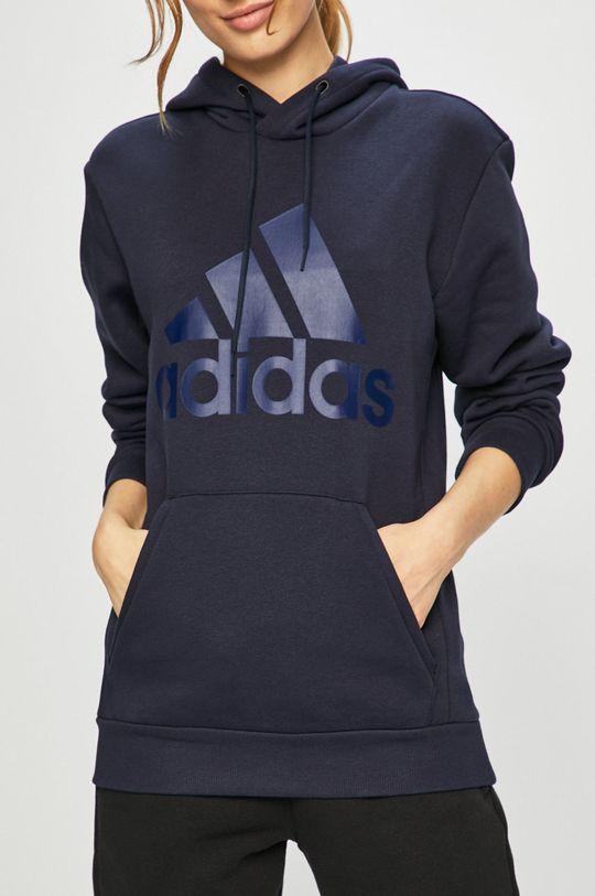 námořnická modř adidas Performance - Mikina
