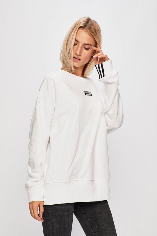 bílá adidas Originals - Mikina Dámský