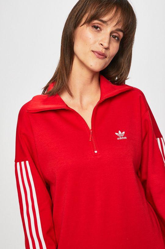 červená adidas Originals - Mikina
