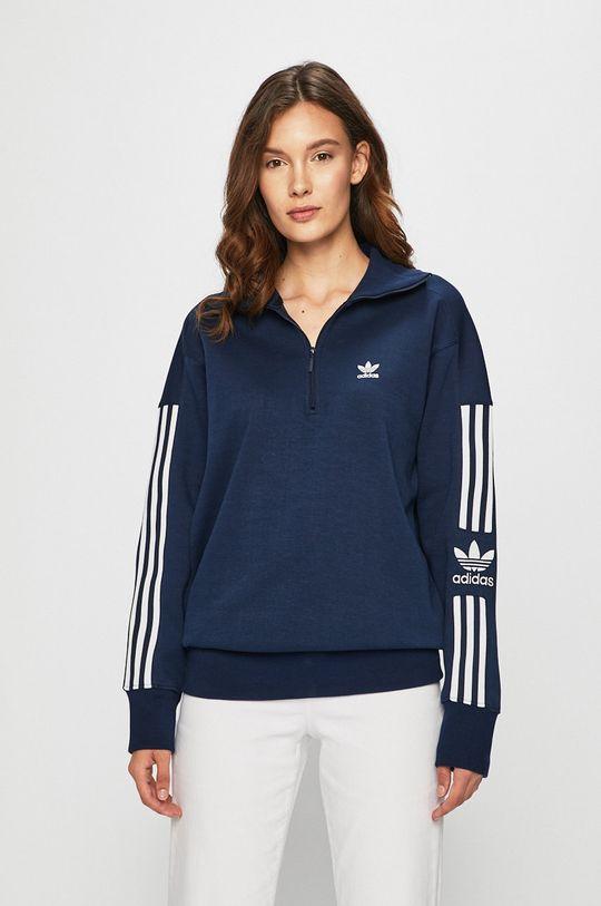 námořnická modř adidas Originals - Mikina Dámský