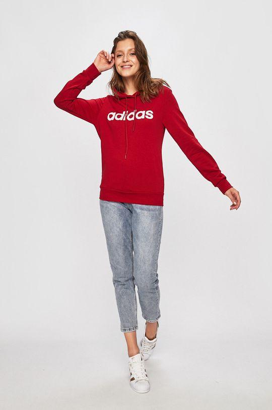 adidas - Felső piros