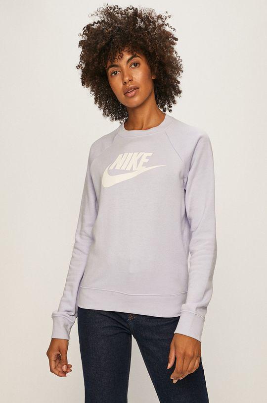 levandulová Nike Sportswear - Mikina Dámský