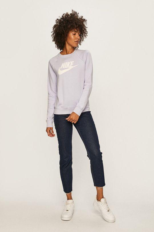 Nike Sportswear - Mikina levandulová