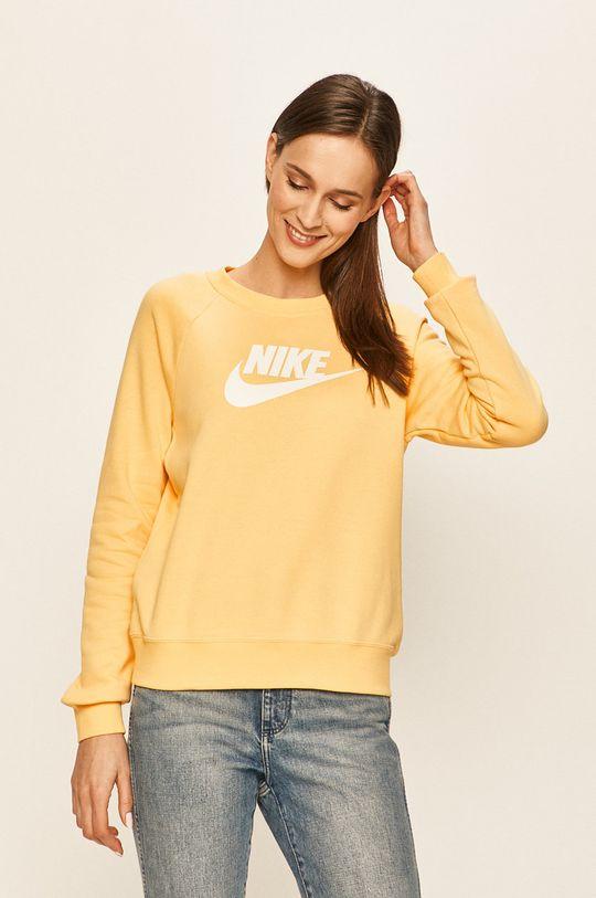 žlutá Nike Sportswear - Mikina Dámský