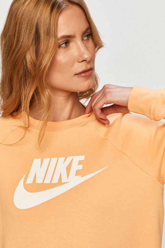 svetlo oranžová Nike Sportswear - Mikina