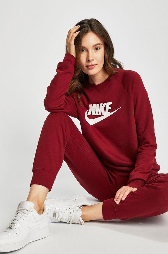 červená Nike Sportswear - Mikina Dámský