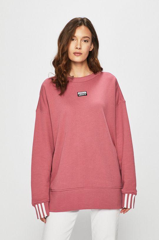 adidas Originals - Mikina fialovo-růžová