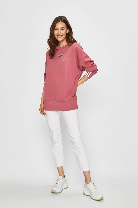 fialovo-růžová adidas Originals - Mikina