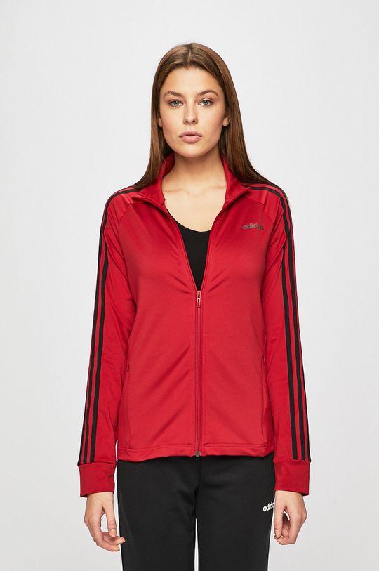 kármin vörös Adidas - Felső Női