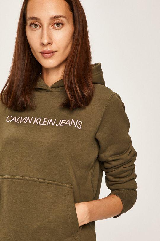 zelená Calvin Klein Jeans - Mikina