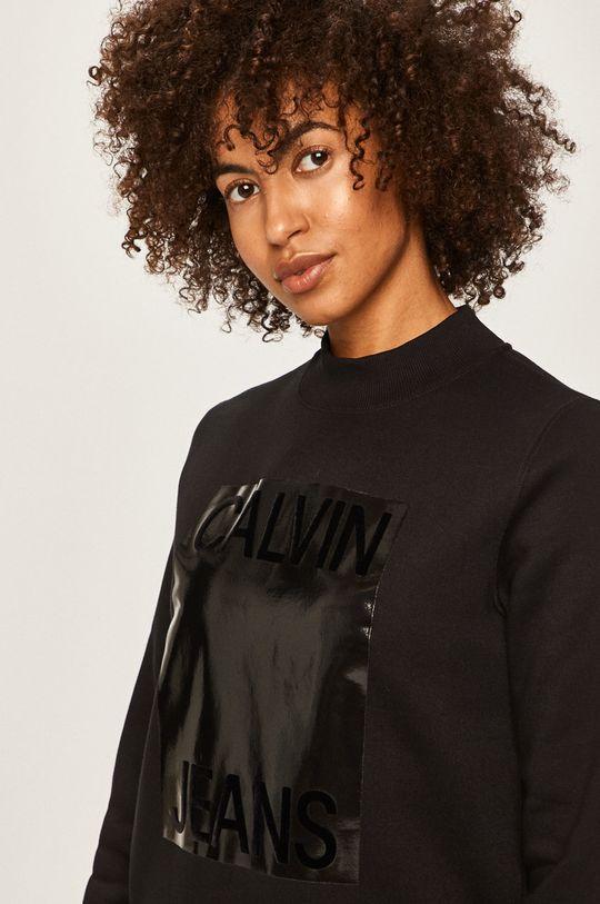 čierna Calvin Klein Jeans - Mikina
