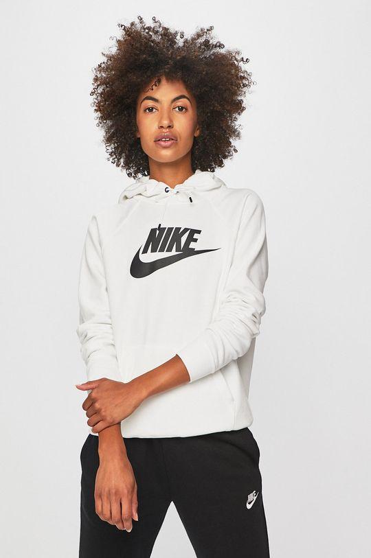 bílá Nike Sportswear - Mikina Dámský