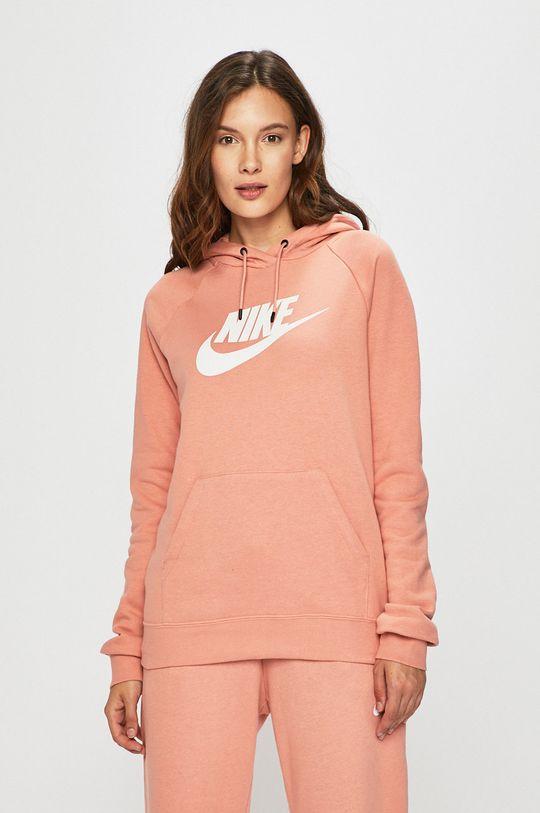 růžová Nike Sportswear - Mikina Dámský