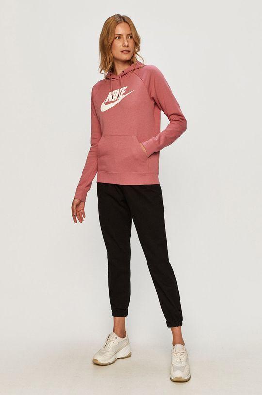 Nike Sportswear - Bluza roz murdar