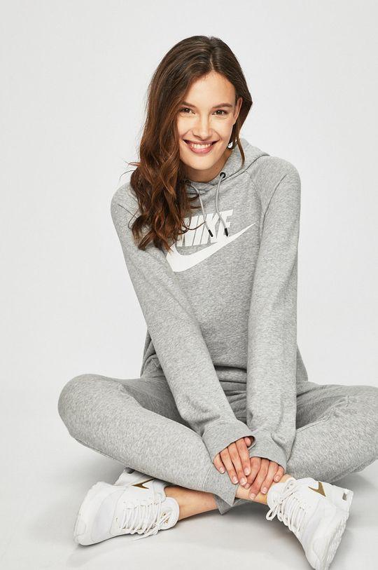 szary Nike Sportswear - Bluza Damski