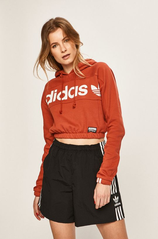 červená adidas Originals - Mikina Dámský