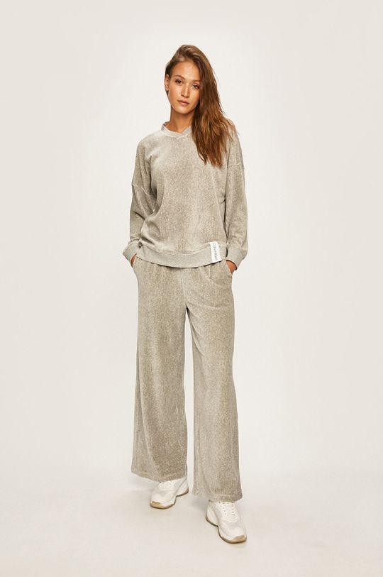 Calvin Klein Underwear - Pyžamová mikina světle šedá