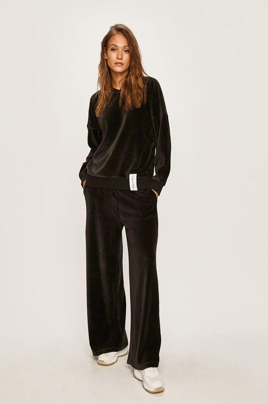 Calvin Klein Underwear - Pyžamová mikina černá