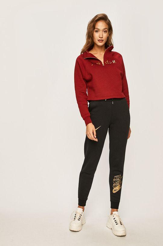 Nike Sportswear - Mikina kaštanová