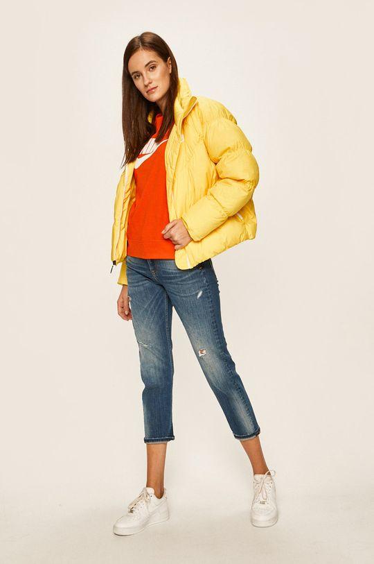 Nike Sportswear - Mikina oranžová