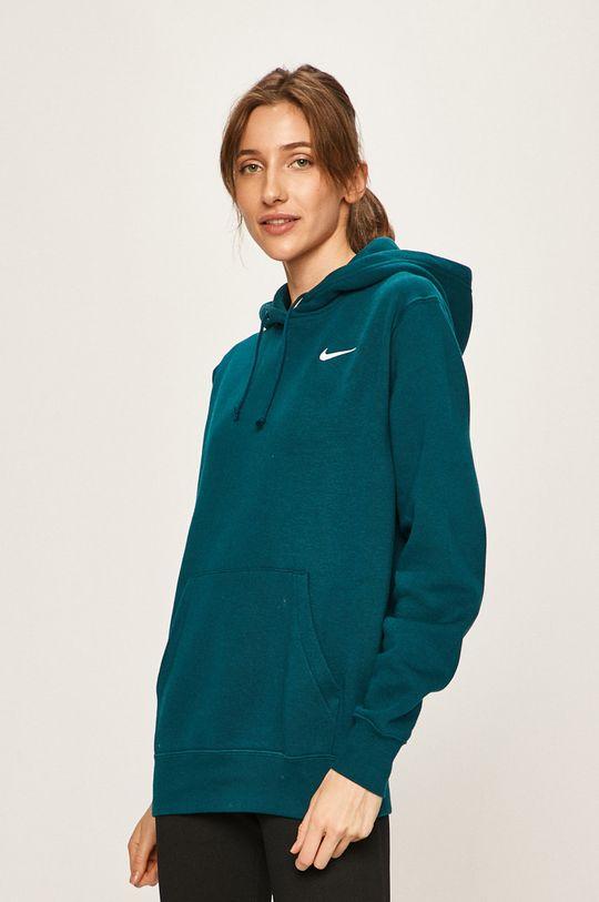 tmavě tyrkysová Nike Sportswear - Mikina Dámský