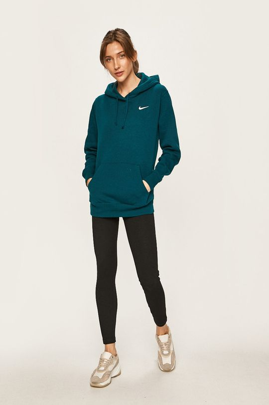 Nike Sportswear - Mikina tmavě tyrkysová