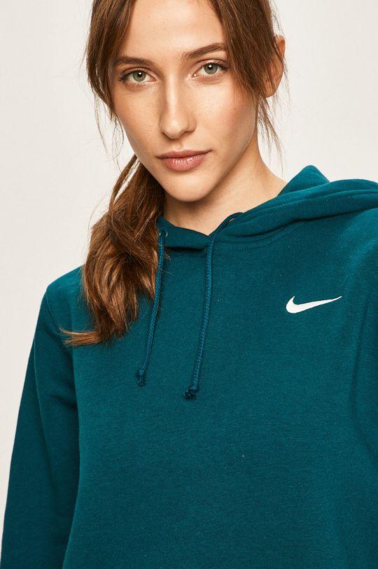 tmavě tyrkysová Nike Sportswear - Mikina