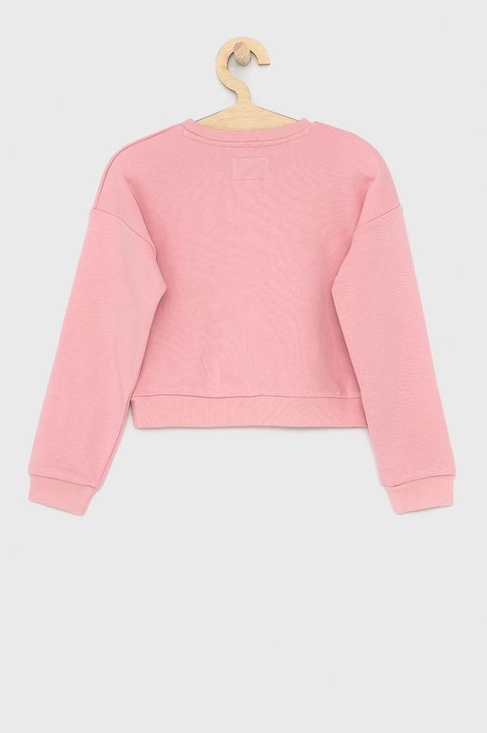 Guess Jeans - Dětská mikina 118-175 cm růžová